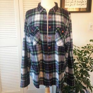 J.Crew Plaid Flannel Shirt